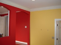 Primary color walls