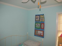 Light blue room